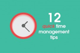 12-quick-time-management-tips