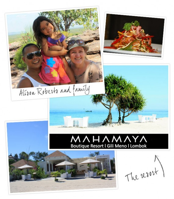 Interview With :     Mahamaya luxury boutique resort owner Alison Roberts