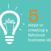 Five-simple-steps-to-creating-a-fabulous-business-idea