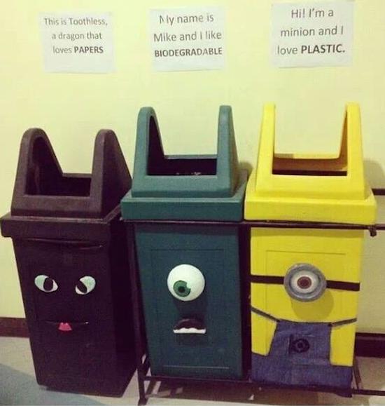 Fun recycling ideas