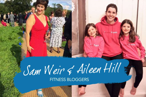 Interview With :   Sam Weir and Aileen Hill, fitness bloggers