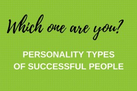 Personality typesof successful people-2