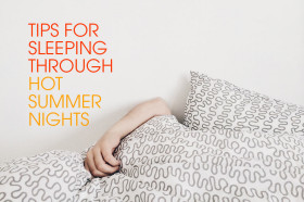 Tips-for-sleeping-through-hot-summer-nights