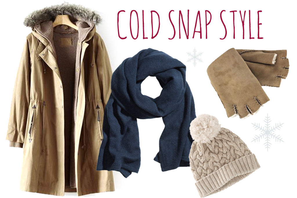 Wrap up warm in our cold snap style