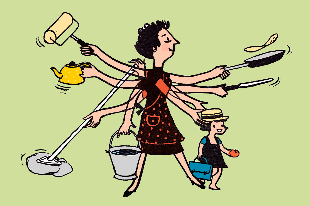 Women still do more housework advise