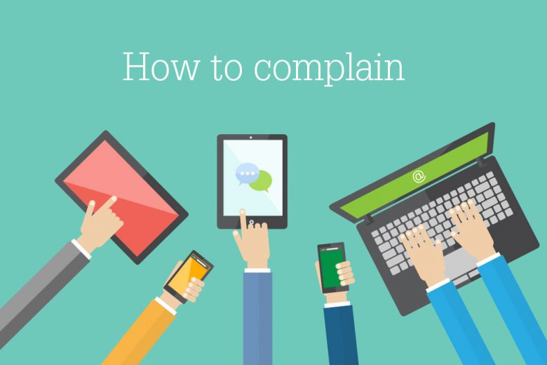 how to complain effectively at work