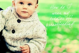 weaning-toddler-off-breastfeeding