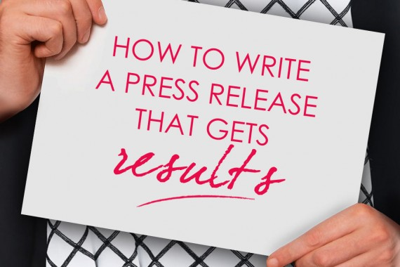 How to Write a Press Release to Launch a New Product