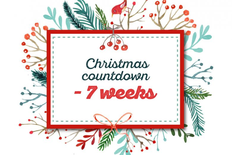 christmas countdown seven weeks to go