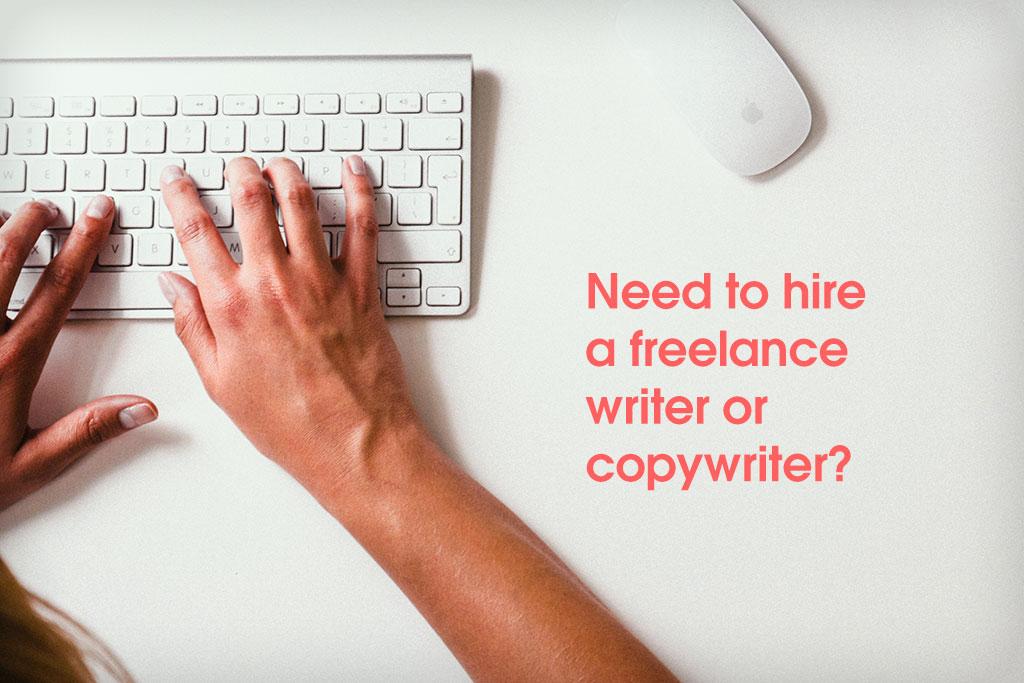Hire freelance writers
