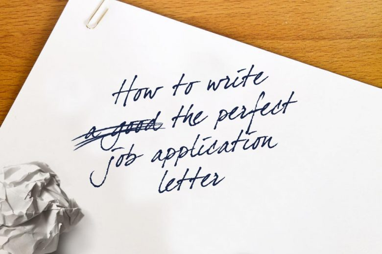 How to write the perfect job application letter talented ladies club how to write the perfect job application letter altavistaventures Choice Image
