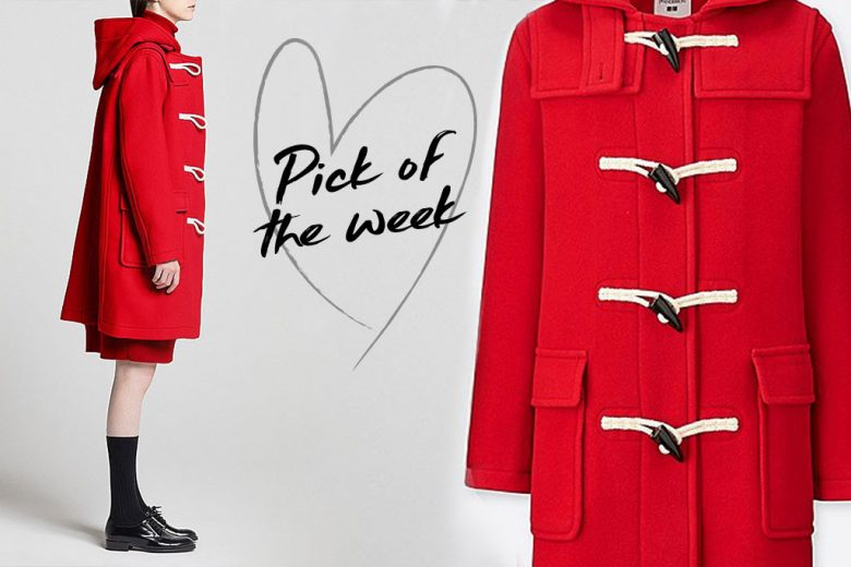 Weekly fashion fix red jw anderson duffle coat from uniqlo weekly fashion fix red jw anderson duffle coat from uniqlo stopboris Images