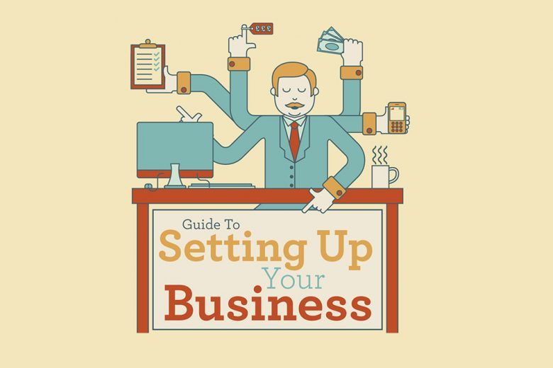 Quick Guide To Setting Up Your Own Business Infographic