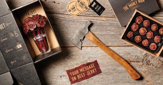 Manly Man Co. original Jerky Gifts