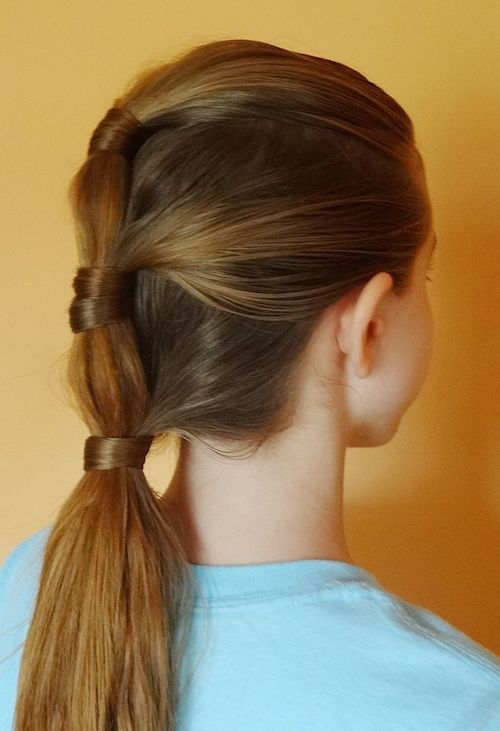 triple-ponytail